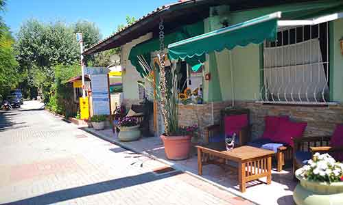 Reception by Camping Souvenir Marina di Massa